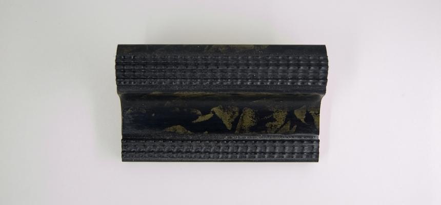 24A Schildpad zwart-groen